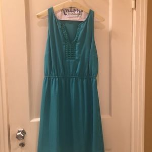 Size small turquoise dress